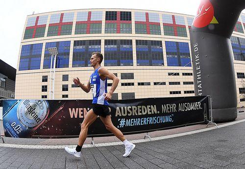 Drei Olympia-Normen bei den deutschen Meisterschaften im Straßengehen auf dem Frankfurter Messe-Gelände