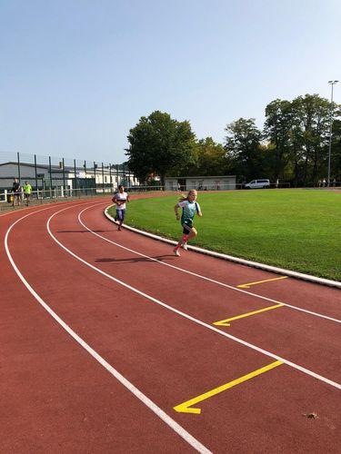 Langstaffelwettkämpfe bei der LuT Aschaffenburg; Hünfelder U16-, U14- und U12-Staffeln holen 1. und 2. Plätze